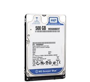 Western Digital 500GB Blue WD5000BPVT NoteBook Hard Drive